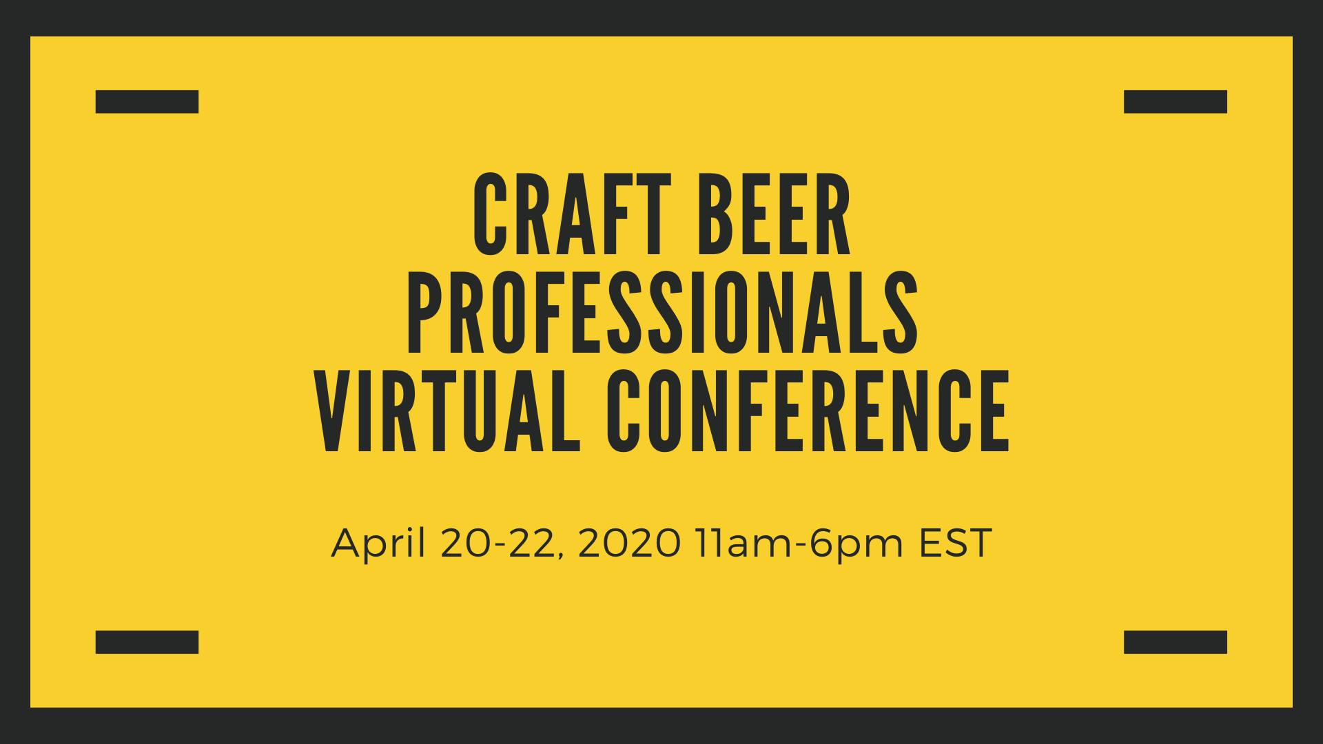 Craft Beer Professionals Virtual Seminar - Dissolved Oxygen in Packaging