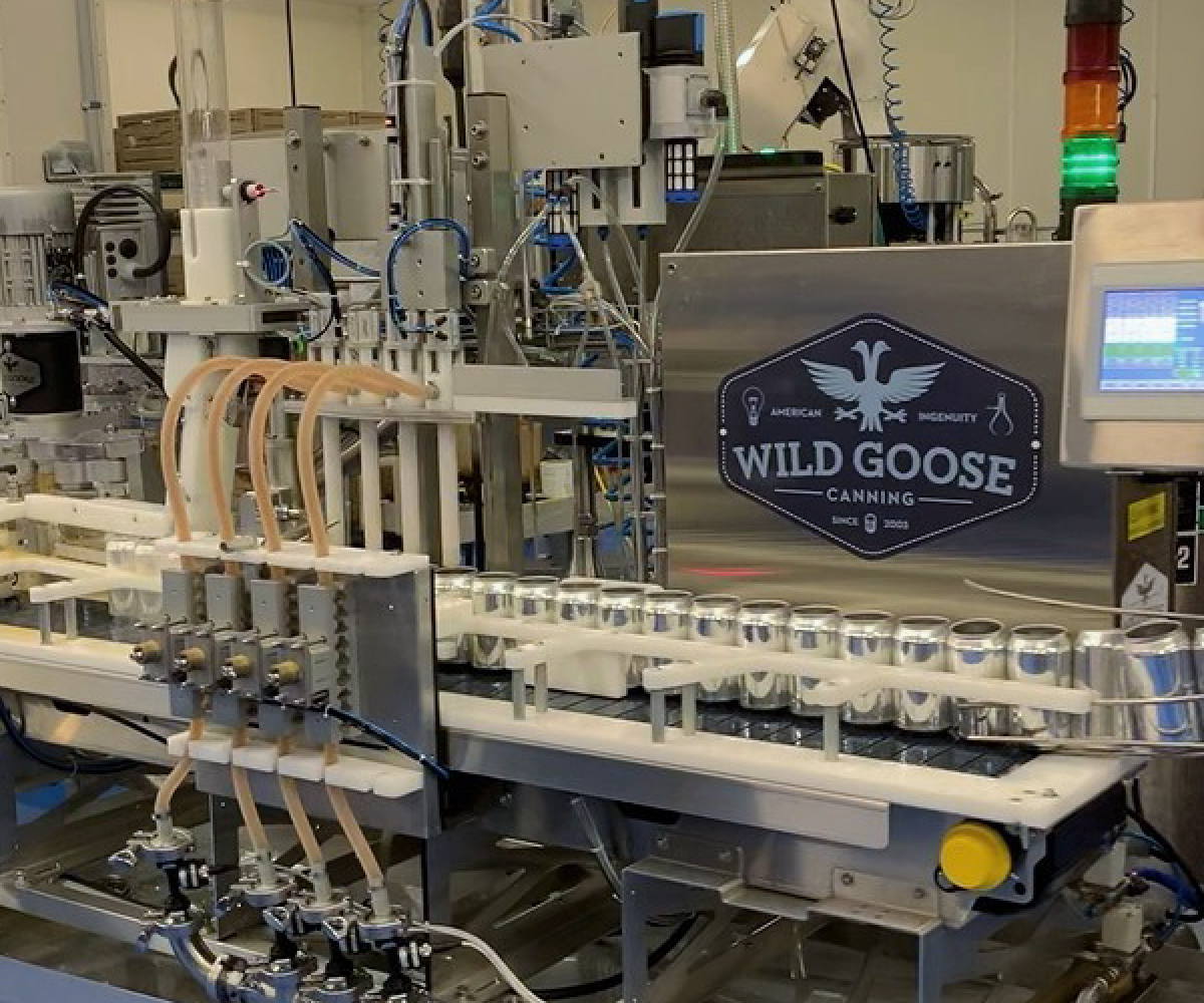 Evolution Series Canning Line_Canned Cold Brew Coffee_Wild Goose Filling