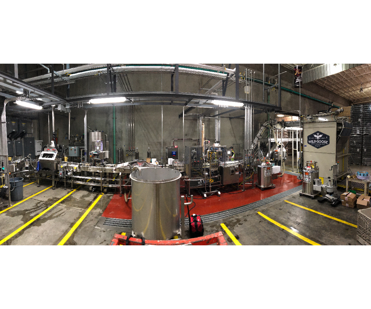 Evolution Series WG8_Wine Canning Line_Canned Wine_Wild Goose Filling