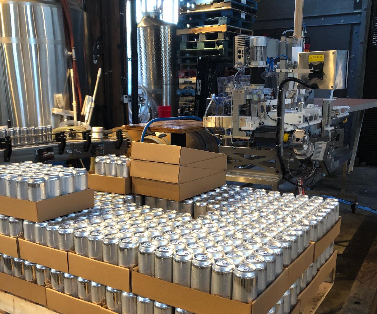 Beer Canning Line_Canned Beer System_Wild Goose Filling