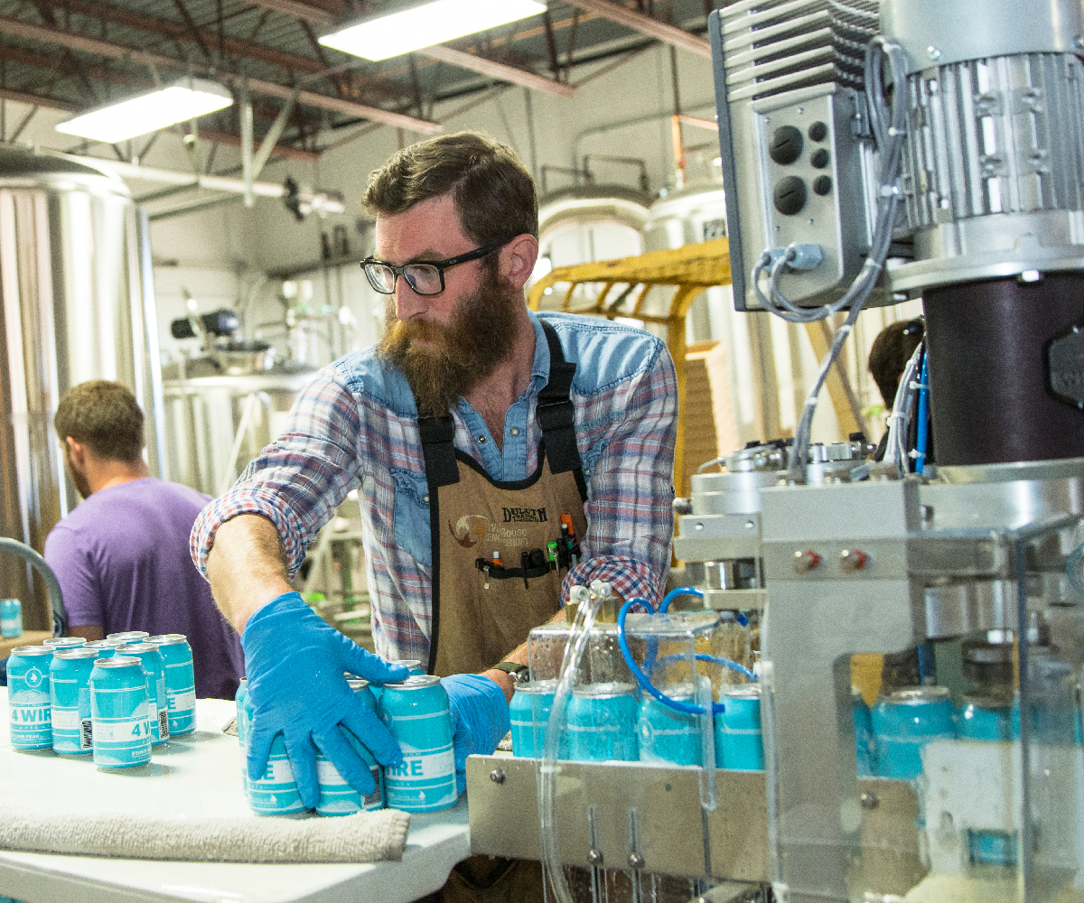 Evolution Series Beer Canning Line_Canned Beer System_Wild Goose Filling