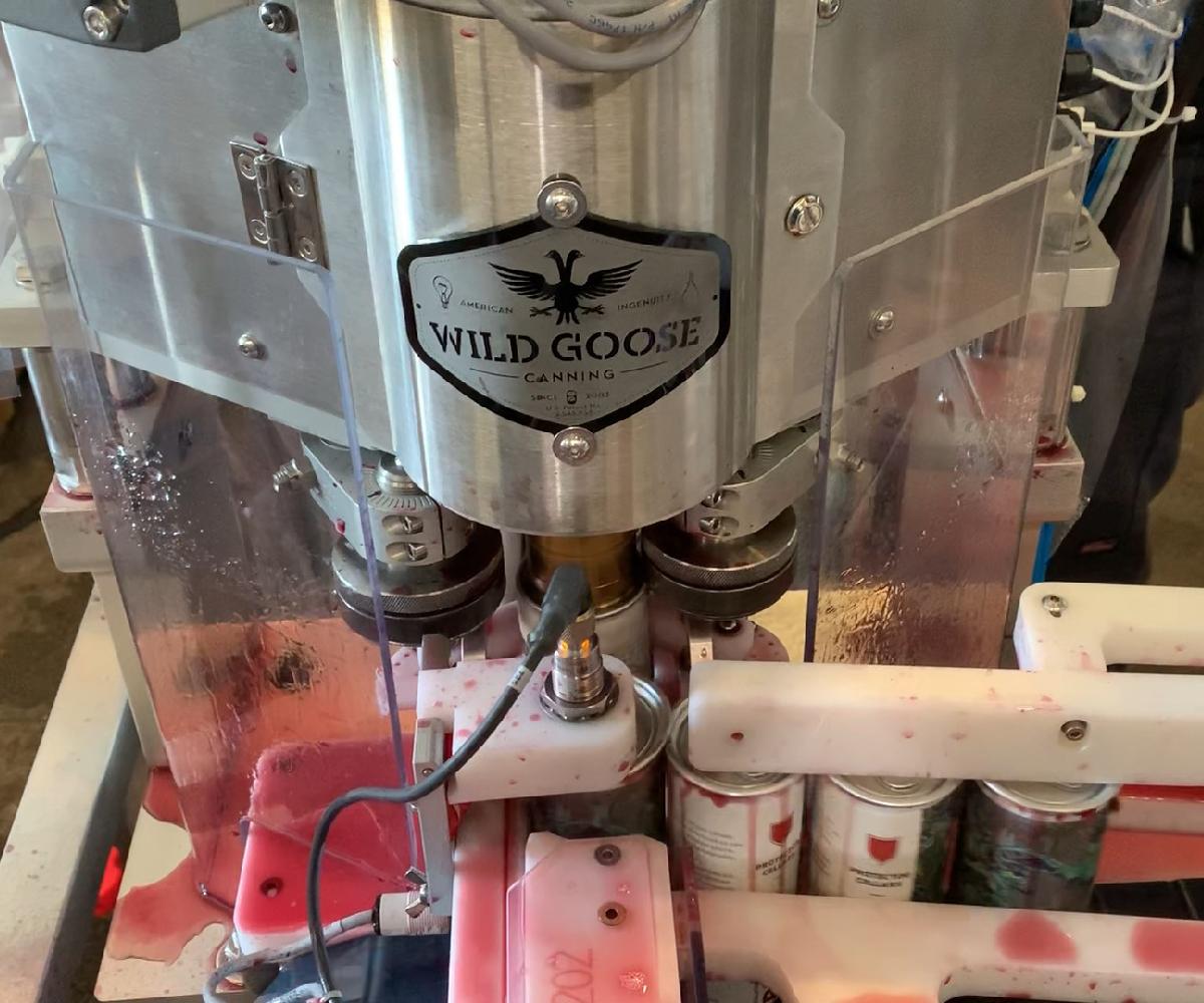 Evolution Series Canning Line_Canned Wine Filler_Adjustable Seamer_Wild Goose Filling