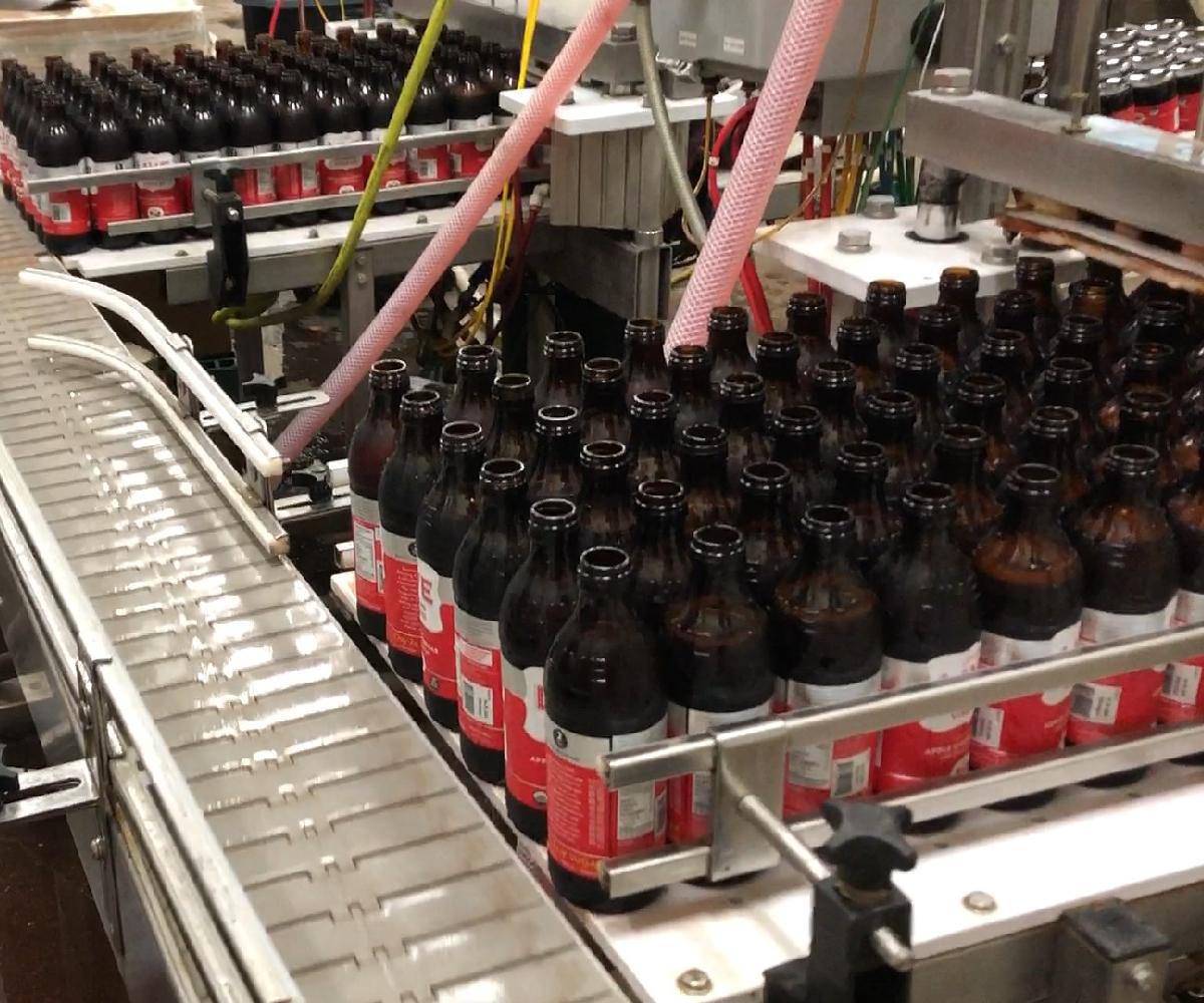 Meheen M6 Bottling Line_Kombucha Tea Bottle Filler_Wild Goose Filling