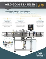 Wild Goose Labeler_Labeling Machine for Cans or Bottles_Specifications Thumbnail