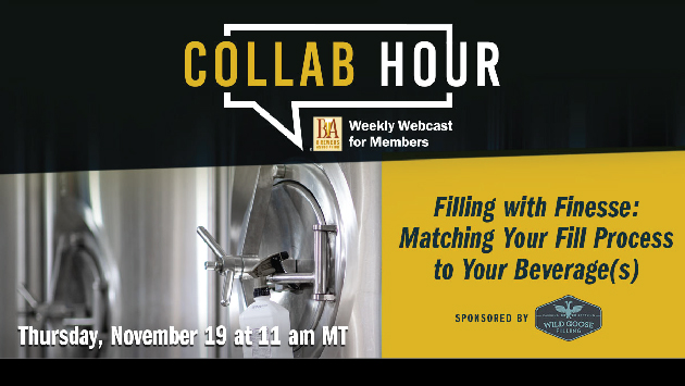 Filling with Finesse_Wild Goose_Brewers Association Collab Hour Webinar
