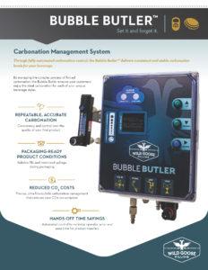 Bubble Butler Carbonation Management System Spec Sheet_Wild Goose Filling