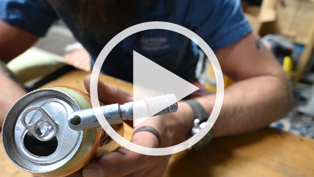 Inspecting Can Seams with a Micrometer_How To Video from Wild Goose Filling