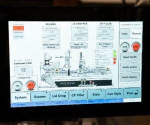Counter Pressure Canning System_Wild Goose Fusion HMI Operation Screen