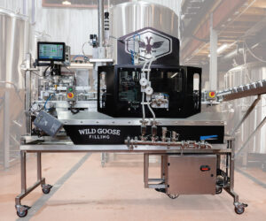 Counter Pressure Canning System_Wild Goose Fusion canning line in craft brewery