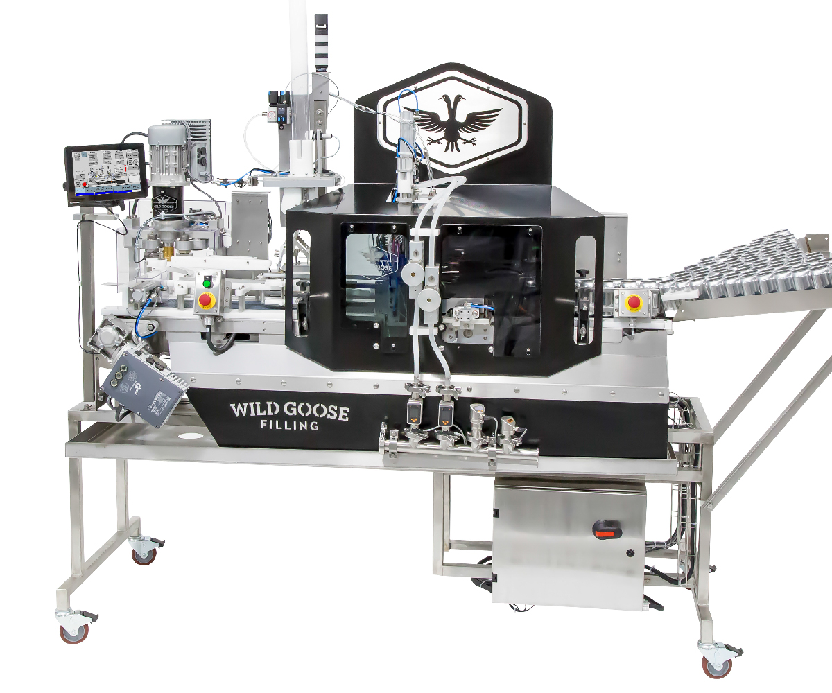 Counter Pressure Canning System_Wild Goose Fusion canning line