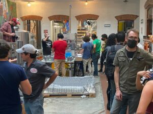 Mexico Craft Brewers Can Beer on a Wild Goose Gosling Canning System