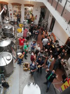 Mexico Craft Brewers Gather to Learn About Beer Canning on a Wild Goose Gosling Canning System
